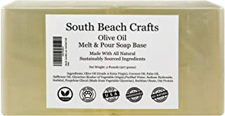 Olive Oil - 2 Lbs Melt and Pour Soap Base - South Beach Crafts