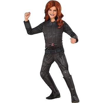 Disfraz de Viuda Negra Capitán América Civil War deluxe para niña ...