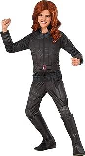 Rubie's Costume Captain America: Civil War Black Widow Deluxe Child Costume, Small