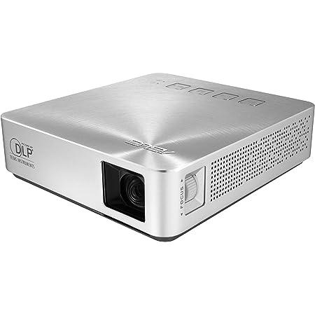 ASUS S1 200ルーメン HDMI/MHL 内蔵 6,000mAh バッテリー パワーバンク ショートスロー LED ポケットプロジェクター (認定リファービッシュ品)