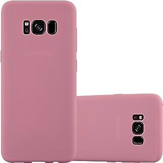 fc194651412 Cadorabo Funda para Samsung Galaxy S8 en Candy Rosa – Cubierta Proteccíon de  Silicona TPU Delgada
