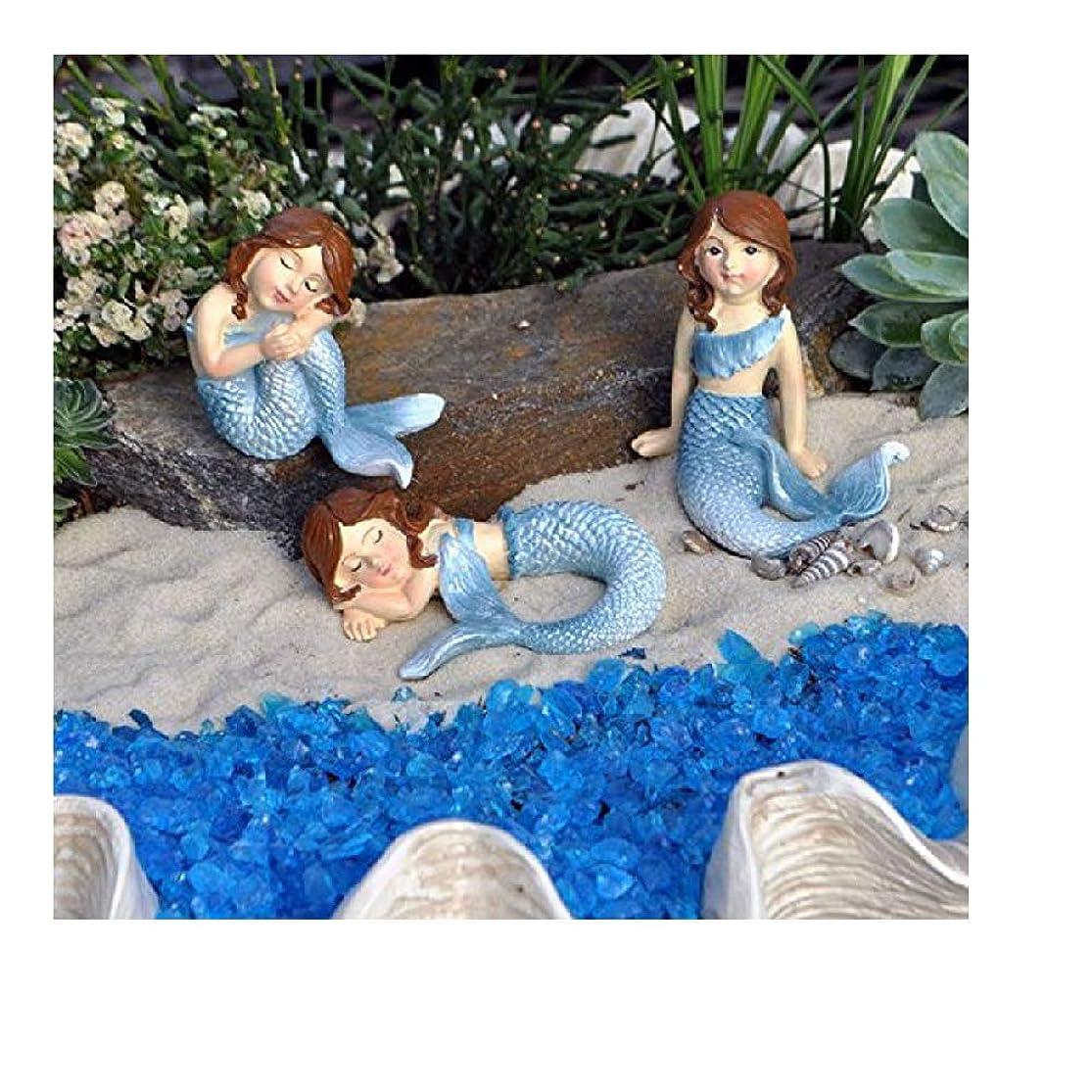 Ganz Fairy Garden Decor Fantasy Mermaid 3 Piece Set Figurines hdofoswh2