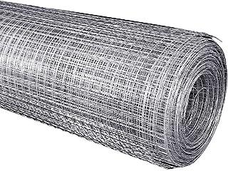 BBGS 金網フェンシング、チキンラビットガーデン屋外パーティションフェンス用の5m溶接ネット亜鉛メッキ鋼ワイヤーメッシュ (Color : 1.4mm wire diameter)