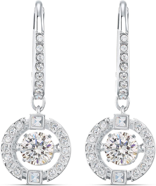 Swarovski Sparkling Dance Pierced Earrings Cz White One Size