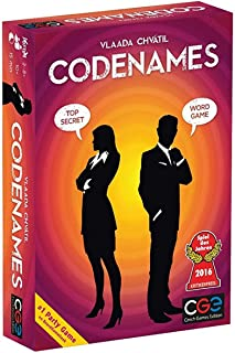 Codenames Card Game Party Supplies