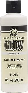 FolkArt 322E Glow in The Dark Paint, 8 oz, Neutral
