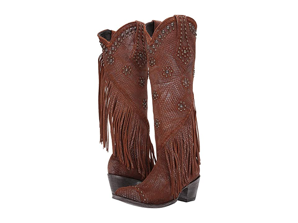 Old Gringo Savannah Tall (Gold/Rust) Cowboy Boots