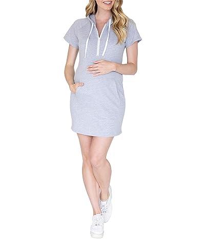 Angel Maternity Maternity Nursing Hoodie Dress