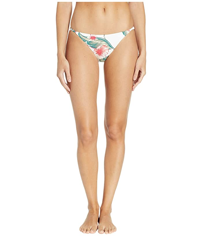 Roxy Dreaming Day Moderate Bottoms (Bright White Tropical Love) Women