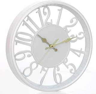 white kitchen clocks