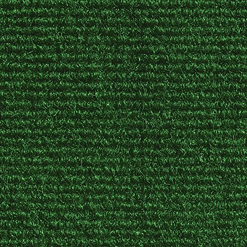 House, Home and More Indoor Outdoor Carpet with Rubber Marine Backing - Green - 6 Feet x 10 Feet