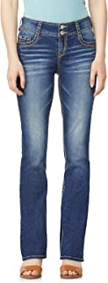 Junior's Instastretch Luscious Curvy Bootcut Jeans,...