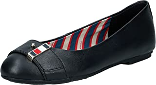 Tommy Hilfiger Corporate Hardware Ballerina Women's Ballet Flats