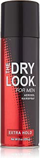 The Dry Look Hairspray For Men Extra Hold 8 Ounce (235ml) (6 Pack)