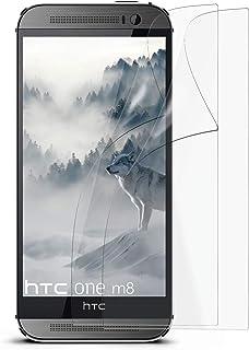 MoEx 2X OneFlow Lámina de protección antirreflejos para HTC One M8 Lámina Protectora Mate | El Mejor Ajuste y la protección óptima