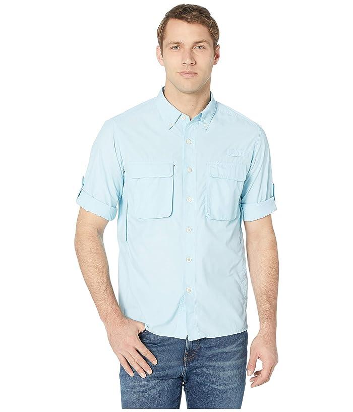 ExOfficio Air Striptm Long Sleeve Top (Air Blue) Men