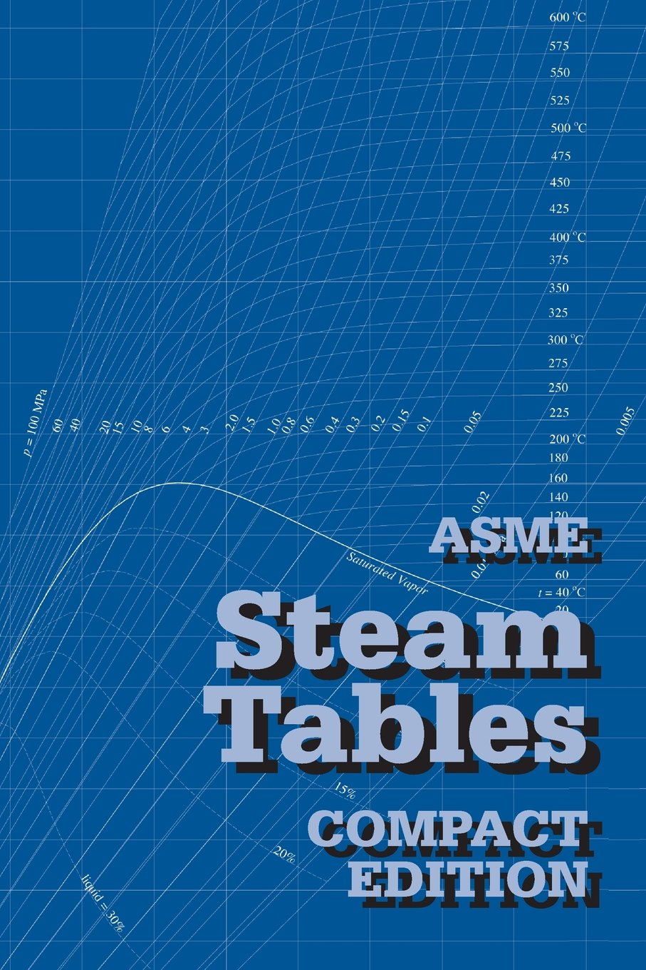 ASME Steam Tables Compact Crtd
