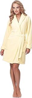 Merry Style Damen Bademantel mit Schalkragen 3S2B2LL2