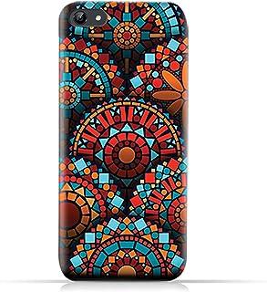 AMC Design Vivo Y81 TPU Silicone Case with Geometrical Mandalas Pattern