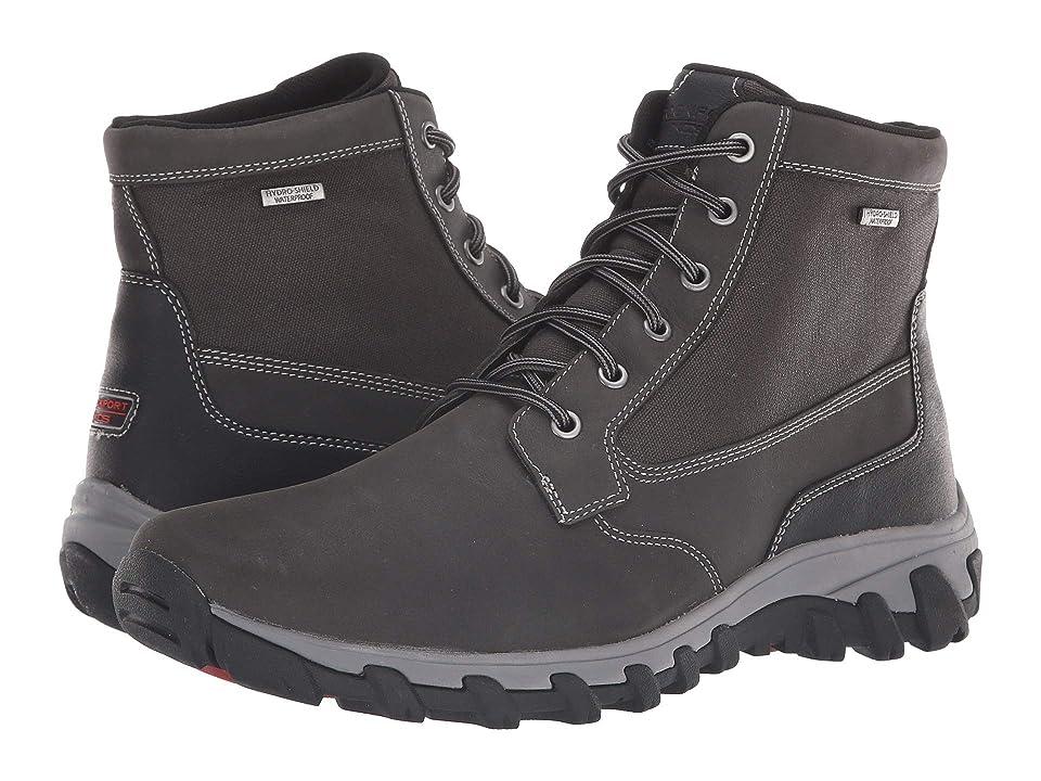 Rockport Cold Springs Plus Waterproof Mid Boot (Grey) Men