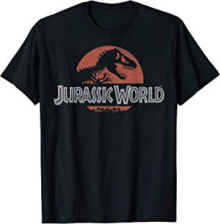 Jurassic World Classic Red Logo T-Shirt