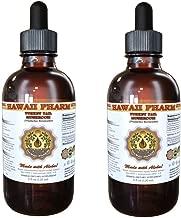 Turkey Tail Mushroom Liquid Extract, Turkey Tail Mushroom (Trametes Versicolor) Mushroom Tincture, Herbal Supplement, Hawaii Pharm, Made in USA, 2x2 fl.oz