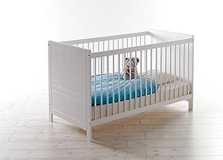 TICAA Baby GitterbettMoritz Kiefer Weiß