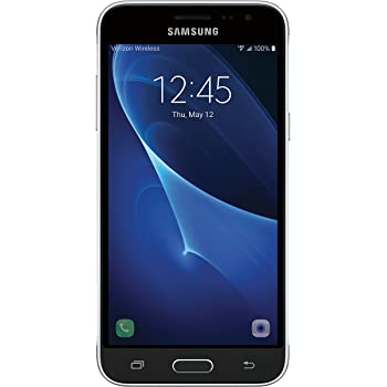 Samsung Galaxy J3, Verizon LTE Prepaid (Black)