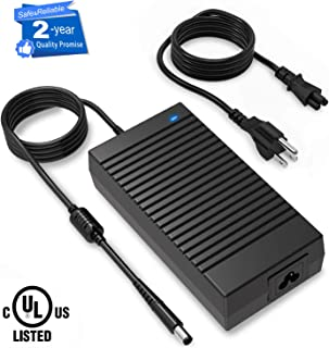 180W Dell Alienware Charger,19.5V 9.23A 180W Power Adapter for Dell Alienware 17 R3/15 R3/15 R2/X51 R2/13/14/M17X/M15X/M14X/X51, Precision M4600/M4700/M4800/M6300/M6400/M6500/M6600/M6700 (7.4mmx5.0mm)