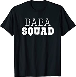 Baba Squad Cool Funny Gift T-Shirt