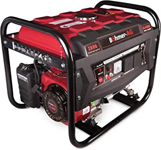 comprar comparacion Böhmer-AG 6500W - Grupo Electrógeno Versátil a Gasolina con Adaptadores Enchufes EU – 3.4kVA - 8 HP - 2800W