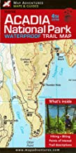 map adventures acadia national park maine me