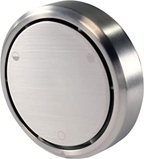 Westbrass D493CH-07 Overflow Cover, Satin Nickel