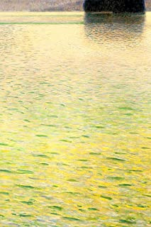 Gustav Klimt Isle on Lake Attersee Laminated Dry Erase Sign Poster 12x18