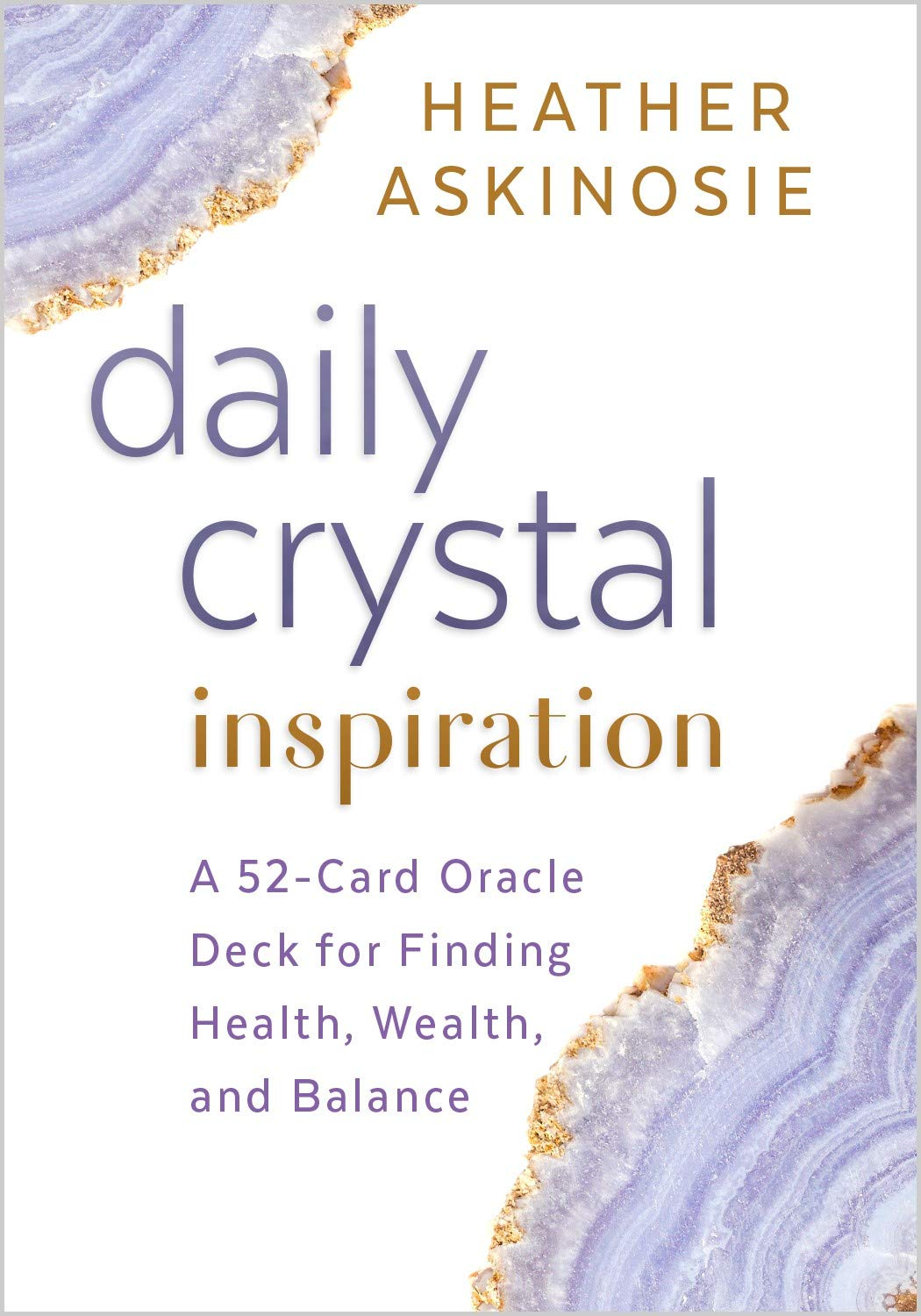 Image OfDaily Crystal Inspiration: A 52-Card Oracle Deck For Finding Health, Wealth, And Balance