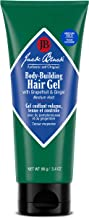Jack Black - Body-Building Hair Gel, 3.4 fl oz - PureScience Formula, Medium Hold, Alcohol-Free, With Grapefruit and Ginger, Fragrance Free