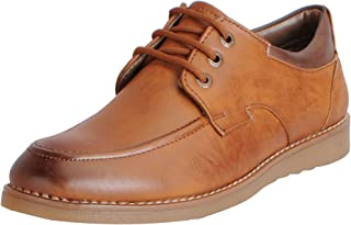 FAUSTO Men's Formal Lace Up Shoes