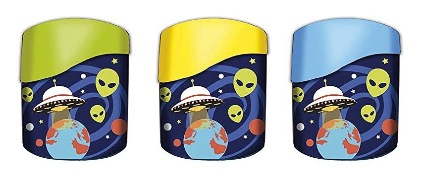 Westcott Microban Alien Sharpener - Assorted Colours