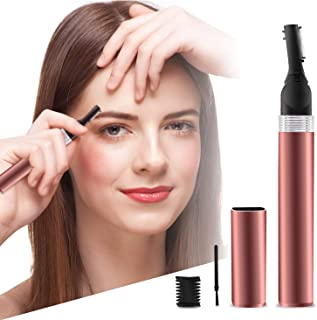 Eyebrow Trimmer, Rechargeable Eyebrow Removal Electric Eyebrow Hair Trimmer Portable Eyebrow Hair...
