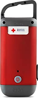 American Red Cross Clipray Crank-Powered, Clip-On Flashlight & Smartphone Charger,..