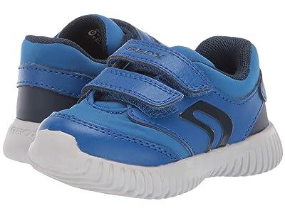 Geox Kids Jr Waviness 11 (Toddler) (Light Blue/Blue) Boys Shoes