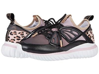 Sophia Webster Fly-By Sneaker (Black/Pink) Women