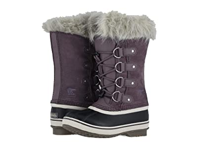 SOREL Kids Joan of Arctic (Little Kid/Big Kid) (Purple Sage/Black) Girls Shoes