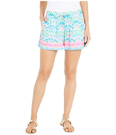 Lilly Pulitzer Katia Shorts (Multi Caribbean Citrus Engineered) Women