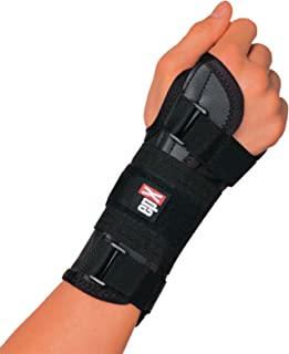 epX Wrist Control, Wrist Brace for Sprains, Contusions, Carpal Tunnel, and Immobilization, Adjustable Wrist Support with Rigid and Flexible Stays, Large Thumb Opening, Easy to Don, Left, Large