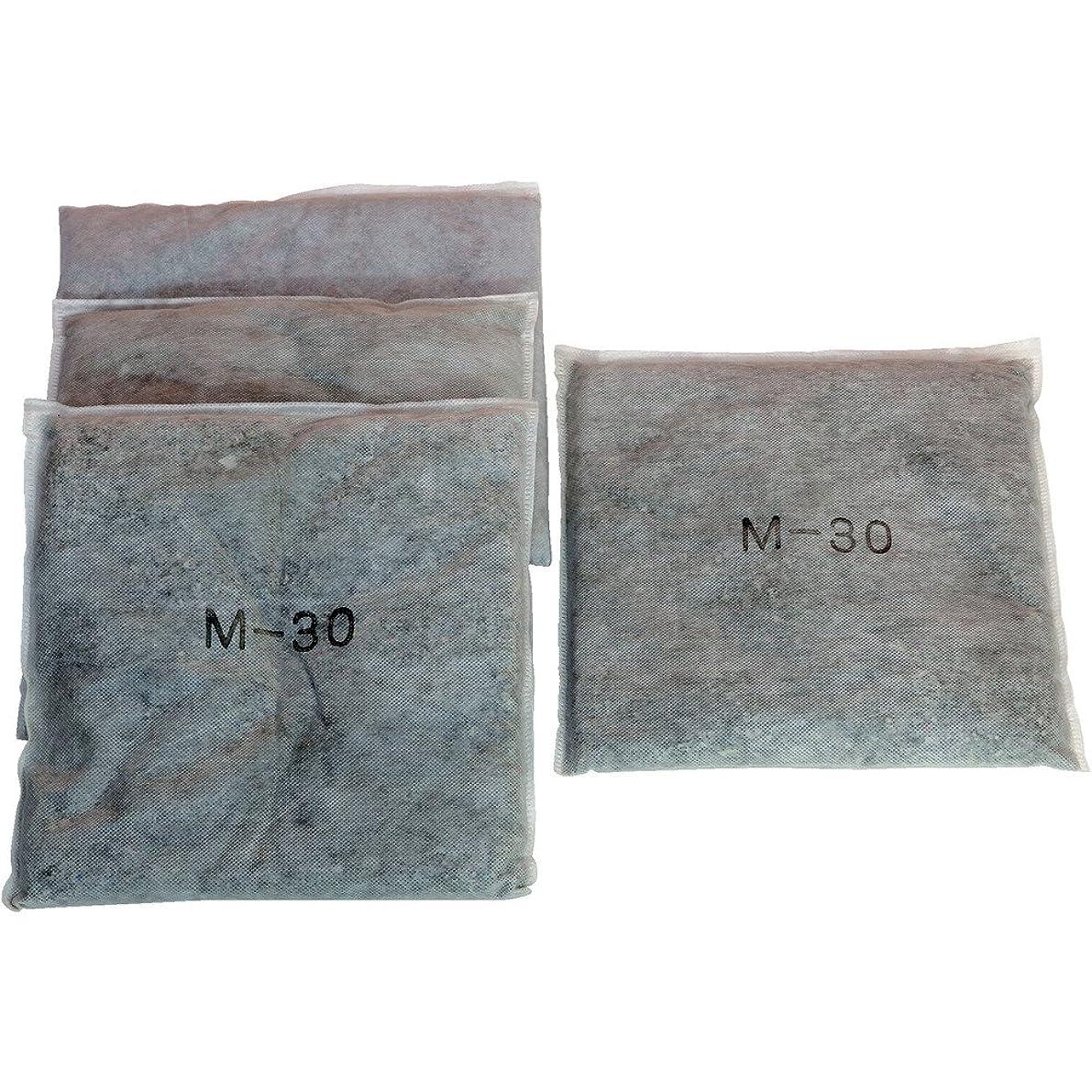 奇跡飽和するバンJOHNAN 油吸収材アブラトール(エコシートタイプ)小分け M-30T 吸収材(シートタイプ)