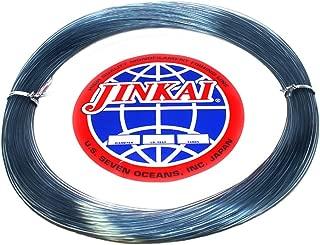 Jinkai Premium Monofilement Leader - 100yd Coil - 50lb-600lb - Smoke Blue