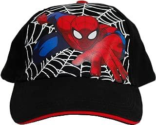 Spiderman Baseball Cap - Boys - Youth - Kids Black