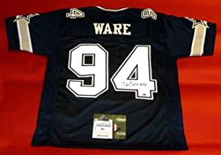 DEMARCUS WARE AUTOGRAPHED DALLAS COWBOYS DS JERSEY AASH
