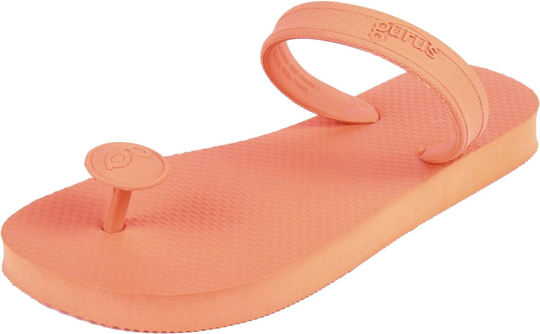 Gurus Men's Sustainable Sandals Natural Rubber Flip Flops